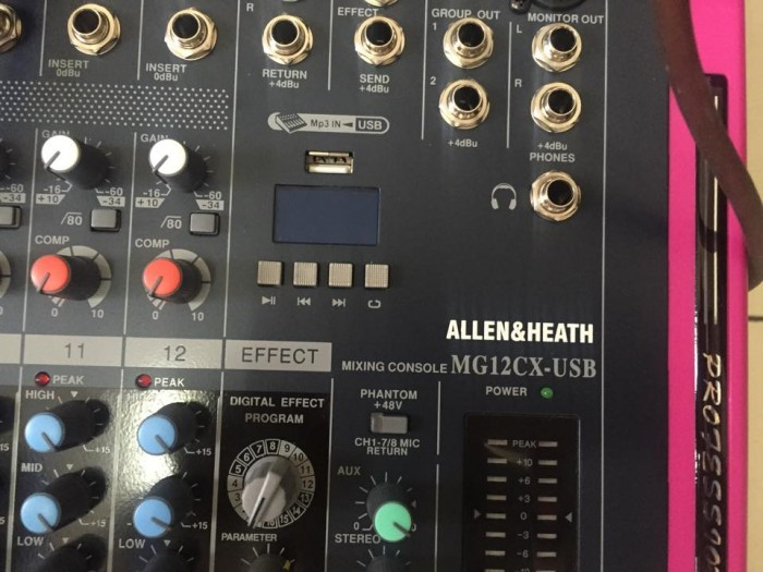 Mixer Allen Heat MG12CX