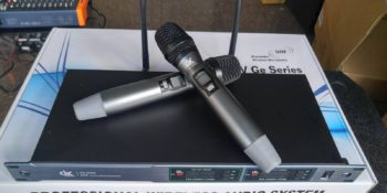 micro karaoke không dây DK UK6000