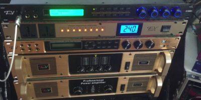 Lắp đặt vang số cho dàn âm thanh karaoke