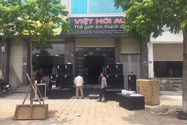 Việt Mới Audio - Địa chỉ bán mixer cũ giá rẻ hàng đầu