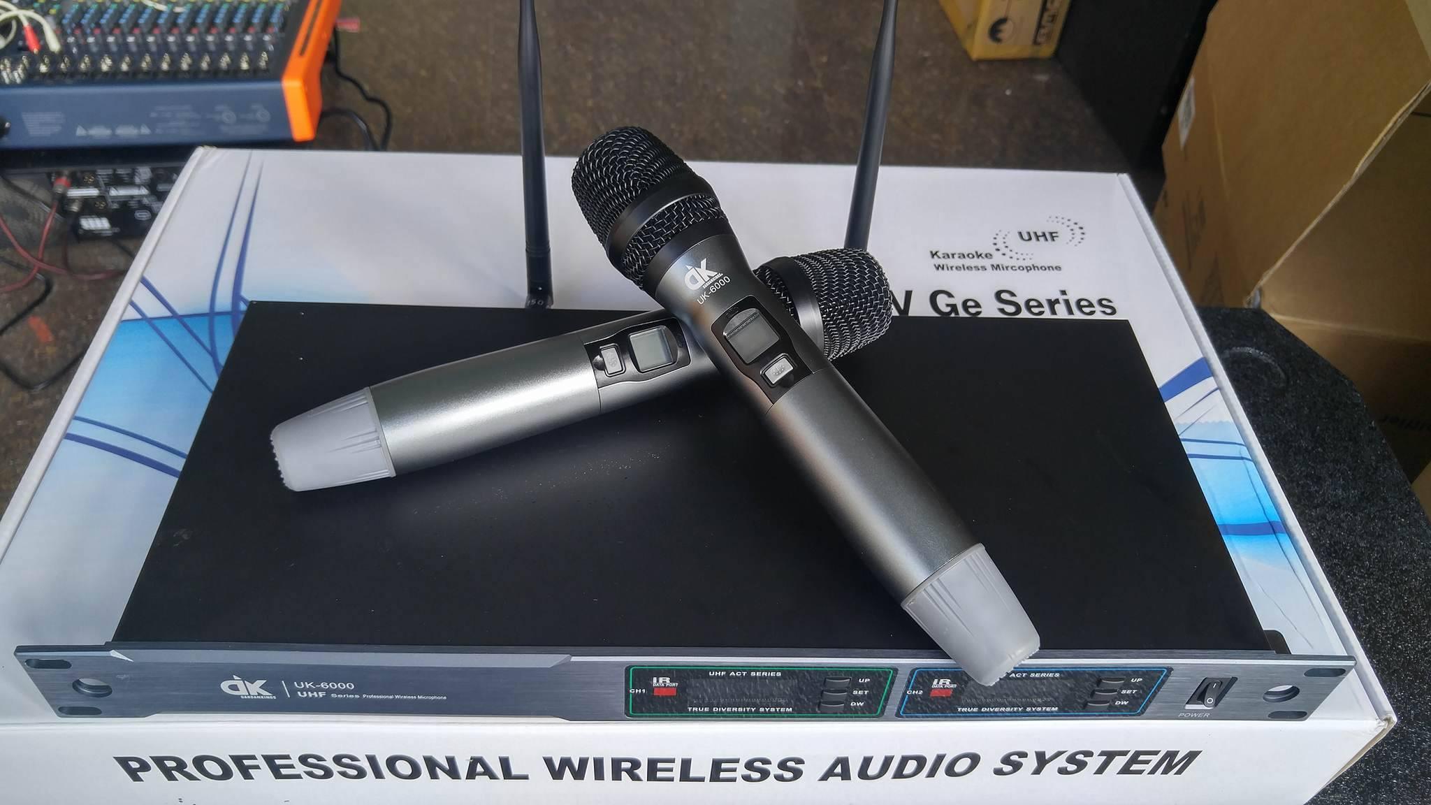 Micro không dây nổi bật nhất thị trường 2017 tại Việt Mới Audio