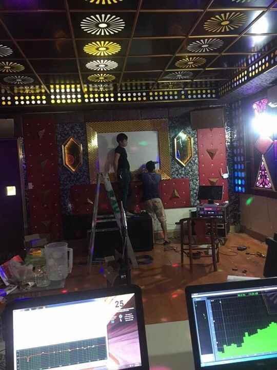 Dự án lắp đặt dàn âm thanh karaoke cho phòng hát tại Thạch Thất, Hà Nội